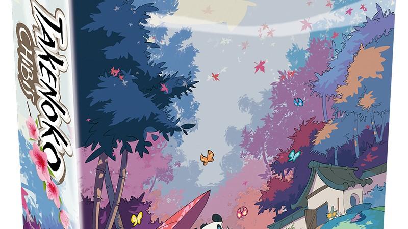 Expansão do jogo Takenoko Chibis