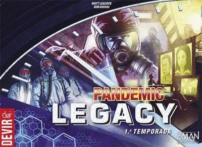 Jogo de tabuleiro Pandemic Legacy