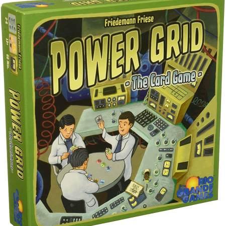 Power GRID em versão de cartas