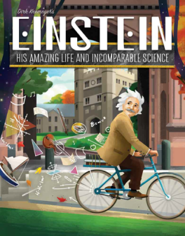 Jogo de tabuleiro Einstein: His Amazing Life and Incomparable Science