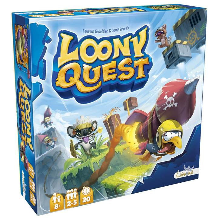 Jogo de tabuleiro Loony Quest