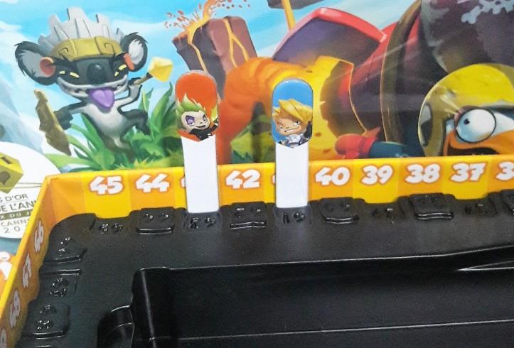 Marcadores de pontuação jogo Loony Quest