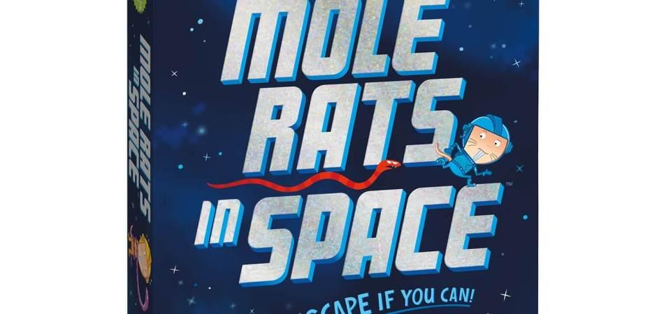 Mole Rats in Space novo jogo cooperativo de Matt Leacock
