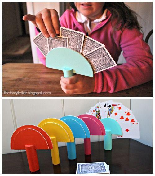 Card Holder feito de plástico