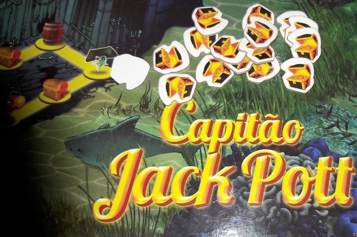 Jogo de tabuleiro Capitão Jack Pott