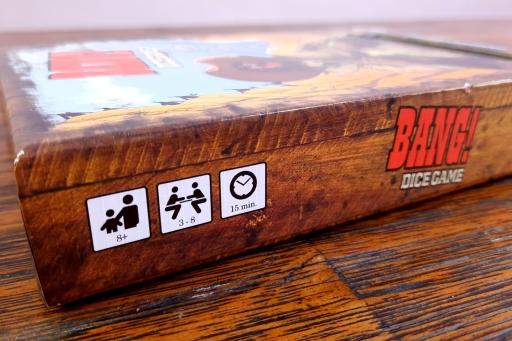 Jogo de tabuleiro Bang Dice