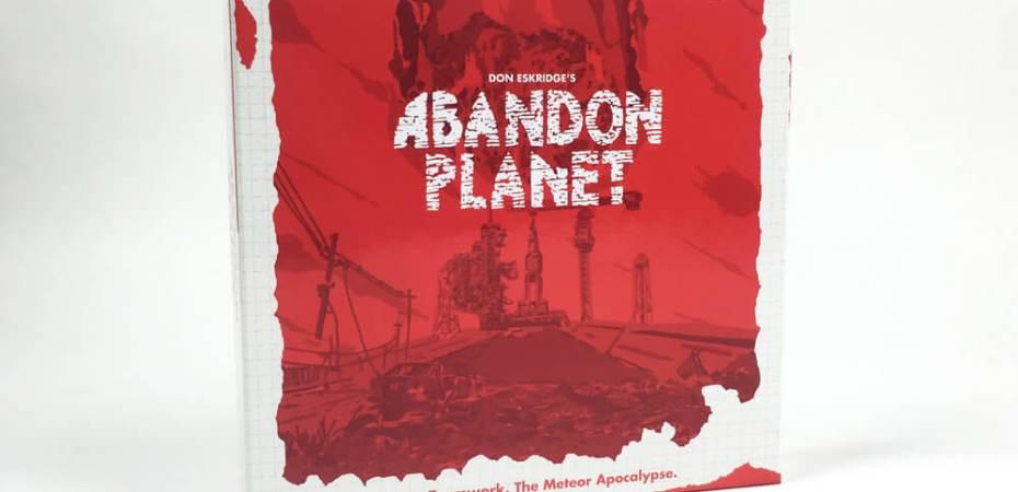 Construa seu foguete e fuja em Abandon Planet