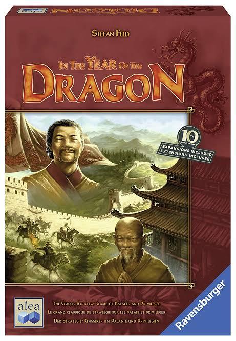Jogo de tabuleiro In the Year of the Dragon