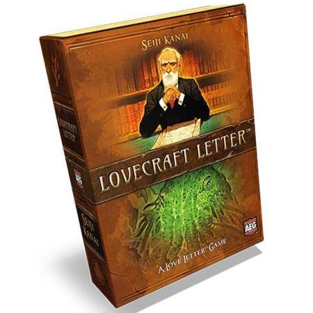 Jogo de tabuleiro Lovecraft Letter