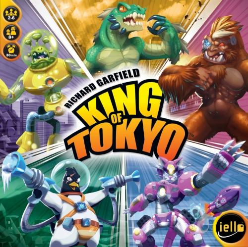 Meus primeiros 10 jogos King of Tokyo