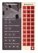 Nível da masmorra no jogo Mini Rogue