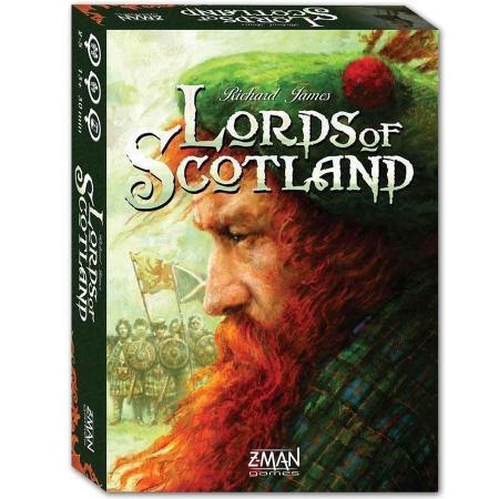 Jogo de cartas Lords of Scotland