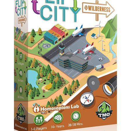 Jogo de tabuleiro Flip City Wilderness