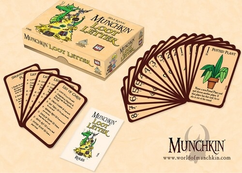 Jogo de cartas Munchkin Loot Letter