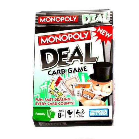 Projeto um jogo por dia 2017 - Dia 25 Monopoly Deal