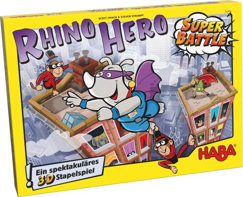 jogo de tabuleiro Rhino Hero Super Battle