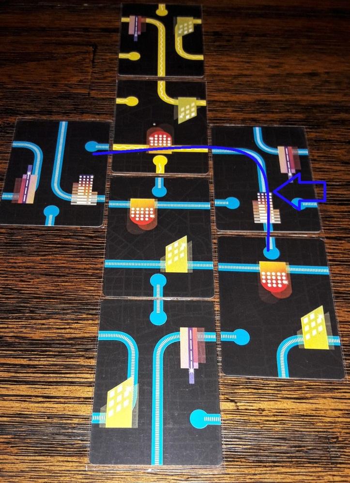 Jogo de tabuleiro Metrocity