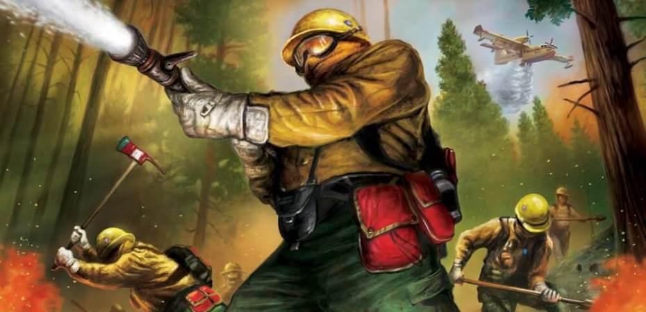 Salve a floresta do incêndio em Hotshots
