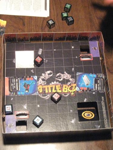 Jogo de tabuleiro BattleBots: Kickbot Arena