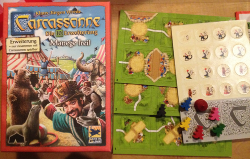 Carcassonne O Circo