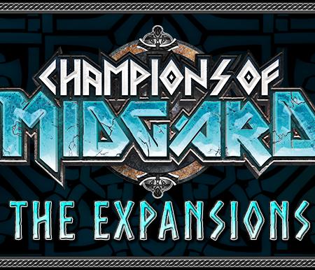 Expansões jogo de tabuleiro Champions of Midgard