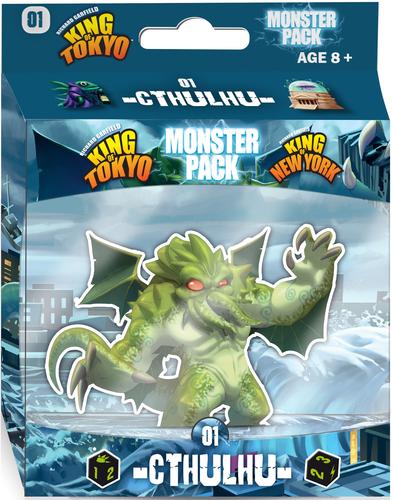 Monstro cthulhu para jogo King of Tokyo