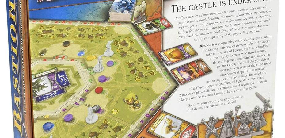Defenda o castelo em Bastion da Z-Man Games