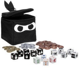 Jogo de tabuleiro Ninja Dice