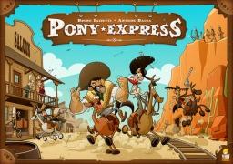 Jogo de tabuleiro Pony Express