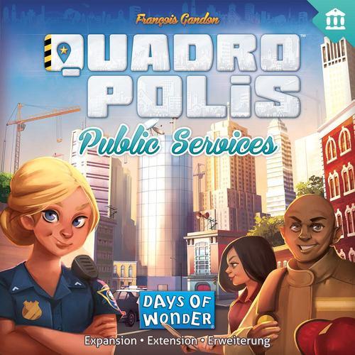 Vem ai Quadropolis: Public Services  expansão do Quadropolis