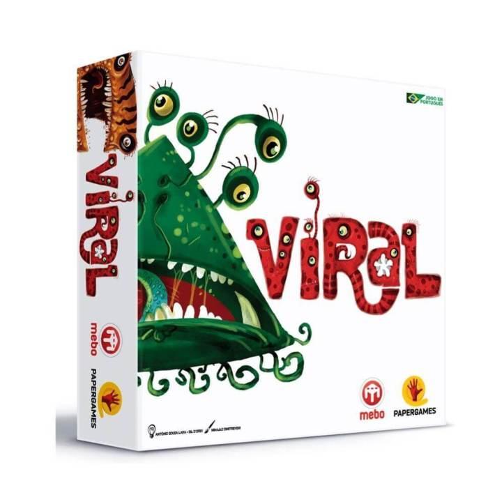 Seja o vírus mais infectante em VIRAL