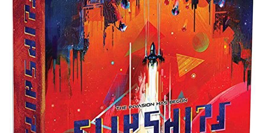 Defenda seu planeta de uma invasão em Flip Ships
