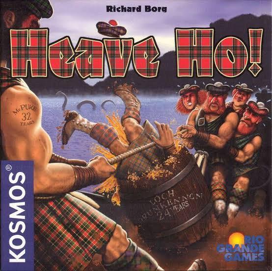 Jogo de tabuleiro Heave Ho