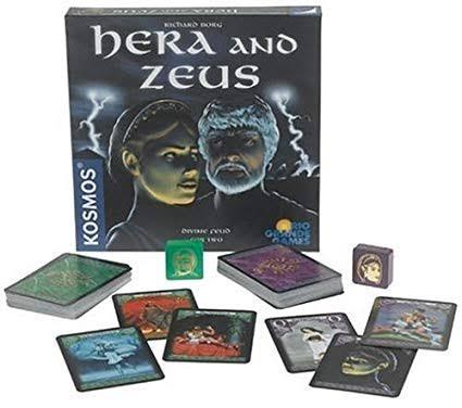 Jogo de tabuleiro Hera and Zeus