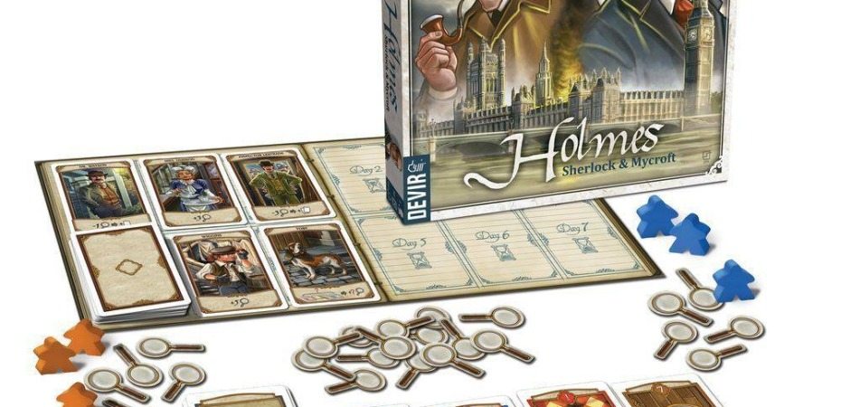 Jogo de tabuleiro Holmes e Mycroft