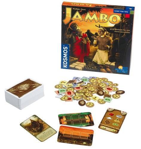 Jogo de tabuleiro Jambo