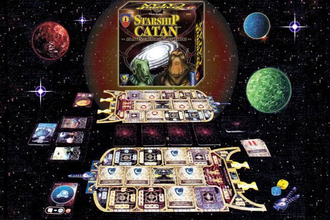 Jogo de tabuleiro Starship CATAN