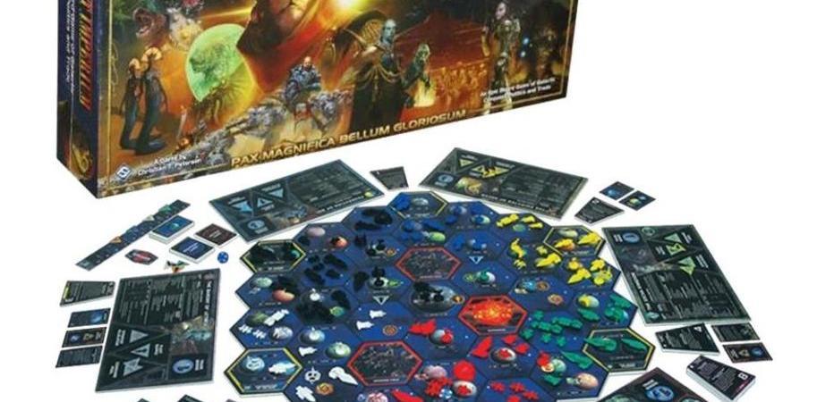 Jogo de tabuleiro Twilight Imperium