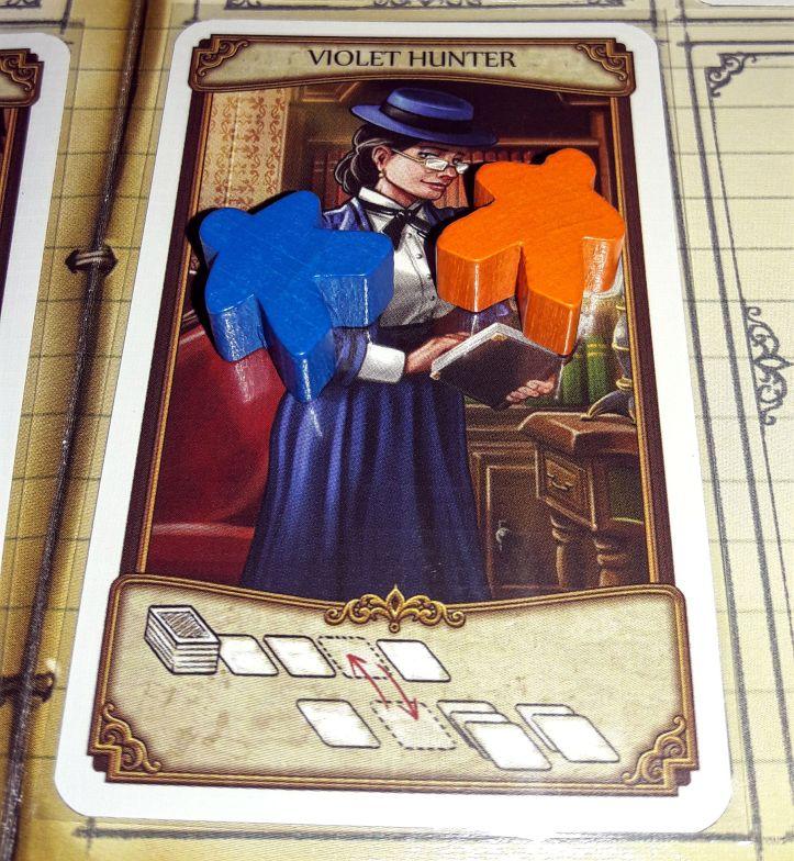 Jogo de tabuleiro Holmes & Mycroft