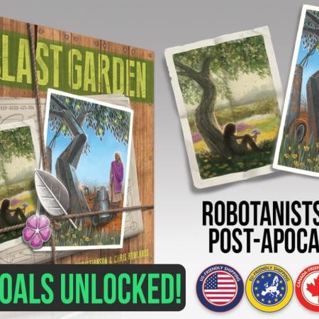 The Last Garden em financiamento coletivo