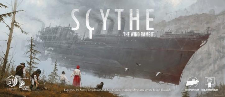 Expansão para o jogo Scythe