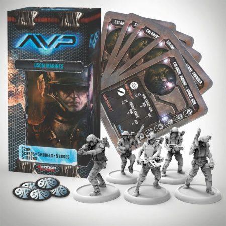 Jogo de tabuleiro Alien vs. Predator: The Hunt Begins