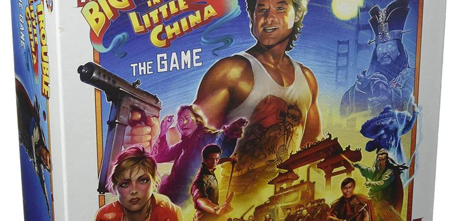 Big Trouble in Little China the Board game chegando