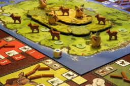 Jogo de tabuleiro Antler Island