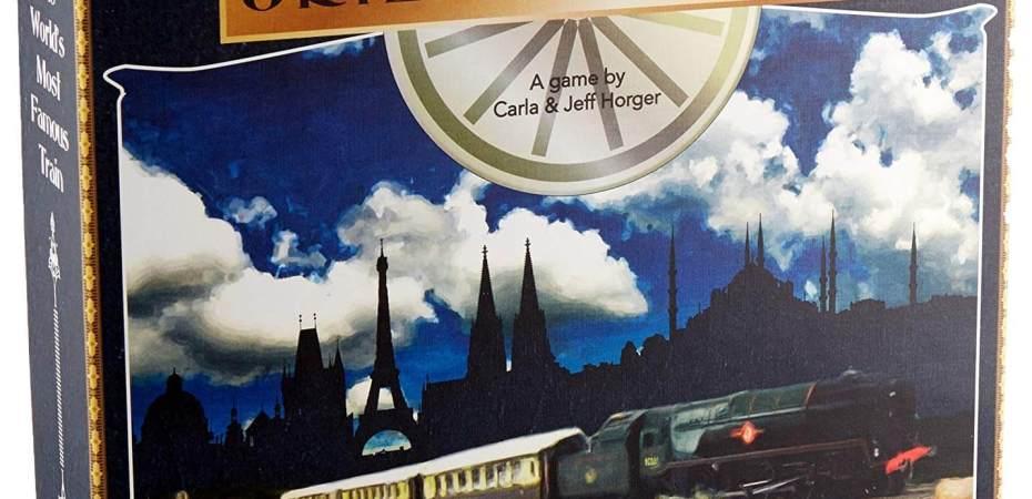 Orient Express chegando pela Rio Grande Games