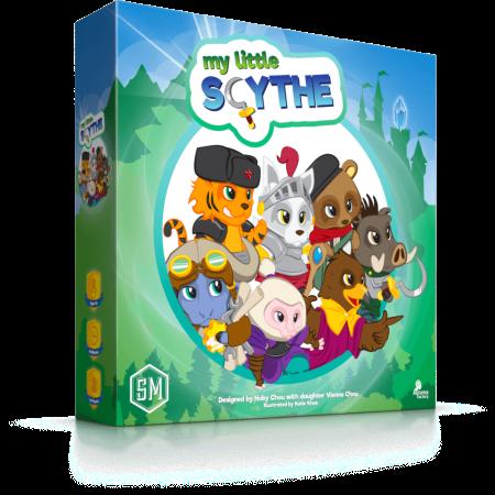 Scythe para a criançada Conheça o My Little Scythe