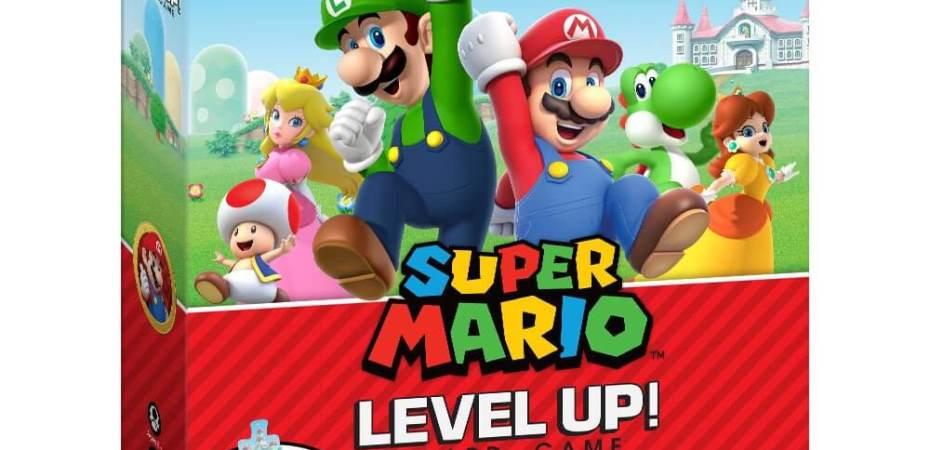 Super Mario Level Up chegando pela USAopoly