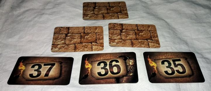 Cartas do jogo Pirâmide Matemágica