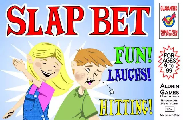 Jogo de tabuleiro Slap Bet