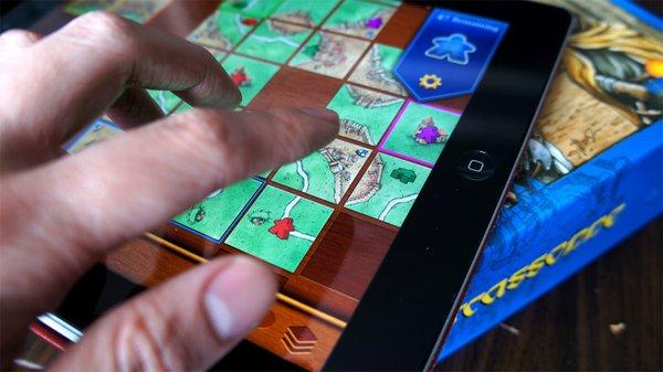 Jogos de tabuleiro em formato digital